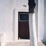 サントリーニ島・住宅