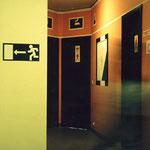 ブリュッセル・ユース・トイレ入口