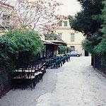 アテネ・パルテノン下・カフェ