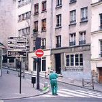 フランス・パリ・清掃夫