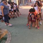 Gymkana por el pueblo