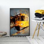 Digital Painting SUBWAY