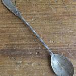 "5087 Navajo Spoon w/twisted handle c.1900 5.375"" $195"