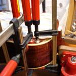 Repair of a top on Acousticguitar, Westernguitar, Concertguitar, Repair of Kid- Guitars, Fabiani Guitars 75365 Calw, Sindelfingen, Stuttgart, Böblingen, Nagold
