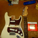 E Gitarre Hals/Neck justieren bzw. einstellen, Gitarrenservice, Bass- Service, Saitenmontage, neue Saiten aufziehen Gitarre, Musik Fabiani Guitars 75365 Calw