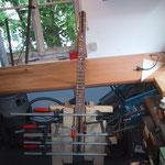Gitarenhals, Reparatur Musikhaus Fabiani Guitars, 75365 Calw, Herrenberg, Nagold, Altensteig