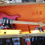 Fender Strat USA, Umbau Elektronik Schlagbrett, Elektronik-Tonabnehmer umbauen, Lötarbeiten Tonabnehmer einbauen