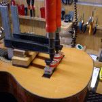 We repair Westernguitars, Acousticguitars, Concertguitars, E Guitars, Basses, Fabiani Guitars Calw