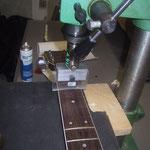 Bünde ersetzen aller Gitarrenhersteller wie Fender, Gibson, Ibanez, Epiphone, Jackson, Squier, Furch, Stanford, Ovation Martin, Sigma Gitarren