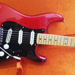 Fender Stratocaster USA, Umbau Pickguard Schlagbrett