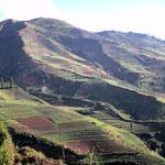 Fahrt zum Dieng Plateau