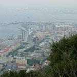 18.4. - Blick auf Gibraltar Stadt