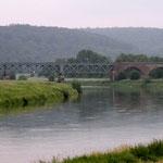 Immer an der Weser entlang