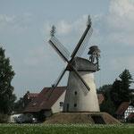 Wegholmer Mühle mit Richtfestbäumchen