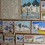 die Künstler malen ihre Stadt