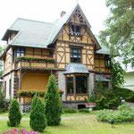 Traumhaft schöne Häuser entlang der Promenade