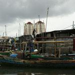 Blick vom Hafen aus