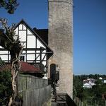 Der Kattenturm, Teil der einstigen Stadtfestigung
