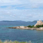 Hotel mit schöner Lage vor Alghero