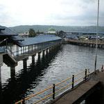 Der Fährhafen