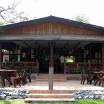 das Restaurant der Lodge