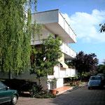 Villa Limonia - unsere Unterkunft in Bari - mit Meerblick