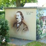 Fontane, deutscher Schriftsteller 1819 - 1898