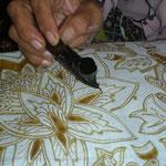 Batikarbeiten
