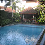 Hotelpool in Ubud