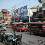 Straßenalltag in Chiang Mai