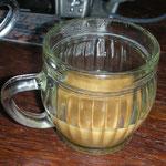 Ginseng-Kaffee, schmeckt herrlich nach Karamel