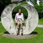 Beginn des Weinwanderweges in Oberkirch