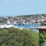 Luxus-Jachten in Porto Cervo