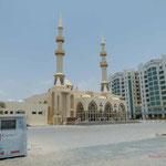 Moschee neben dem Hotel