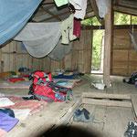 Unsere Schlafstätte