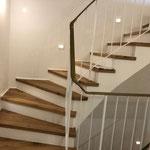 Altbausanierung Treppenstufen