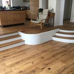 Holzboden verlegung