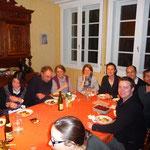 réunion conviviale à La Ferrière Percy