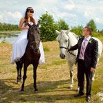 Свадьба Михаила и Марии (Свадебный фотограф в Куровское)
