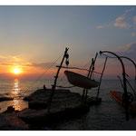 Istrien - Savudrija - die hängenden Boote