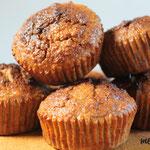 Paloe Birnen-Banenan-Kokosmuffins