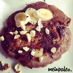 Paleo Bananen-Schoko-Pfannkuchen
