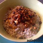 Chia Pudding mit frischem Apfelmus