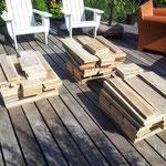 voorbereiding tuinstel