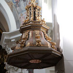 Detalle del púlpito