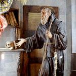 Detalle de la capilla de san Francisco de Paula