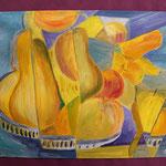 Nr 49, kubistisches Stilleben, Öl, 30 * 40 cm