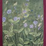 Nr 43, Ehrenpreis, Aquarell, 30 * 40 cm