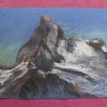 Nr 13, Matterhorn, Kreide, 24 * 34 cm