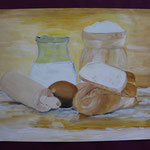 Nr 23, Küchenstilleben, Öl, 30 * 42 cm